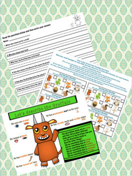 Language and Literacy Activities to Accompany 'The Gruffalo'