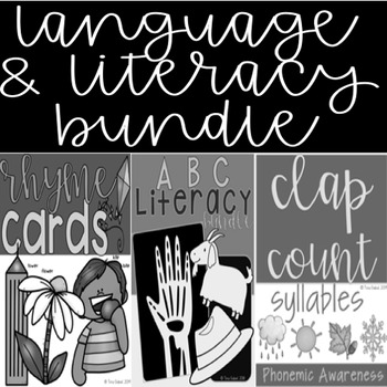 Language and Literacy Bundle