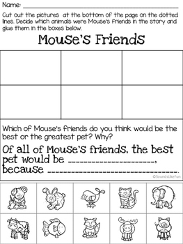 Language & Literacy Lesson:Happy Valentine's Day, Mouse!
