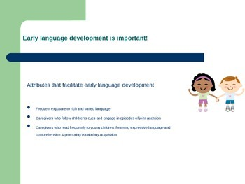 Language and Literacy in Early Intervention
