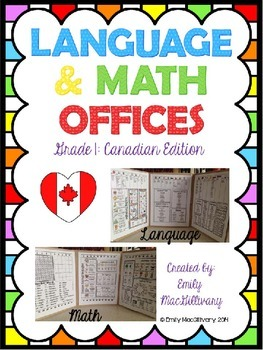 Language and Math Offices: Canadian Edition (Grade 1)