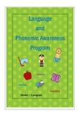 Language and Phonemic Awareness for Kinder - Grade 2.