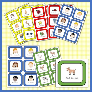 Language and Social Skill Throw and Play Game