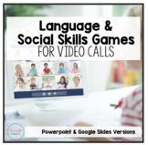 Language and Social Skills Games for Video Calls