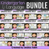 Language and Vocabulary Kindergarten Bundle