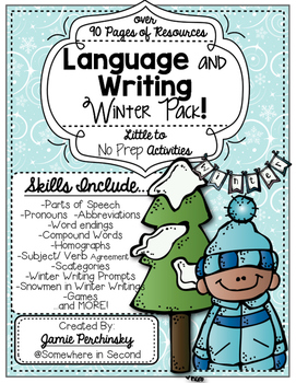 Language and Writing Winter Pack!