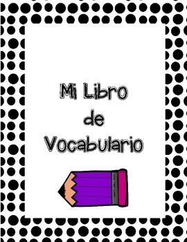 Language arts mi libro de vocabulario