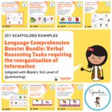 Language Comprehension Booster Bundle: Verbal Reasoning Ta