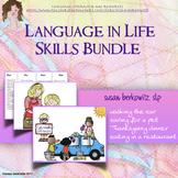 Life Skills Speech or Special Education Activities Bundle