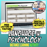 Language in Psychology Bundle