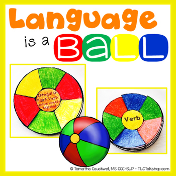 Language is a Ball: Beach Ball Craft for Language