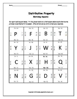 Language of Algebra: Combining Like Terms, Distributive and Properties (Bundle)
