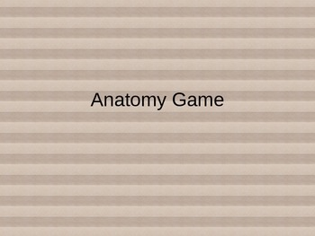 Language of Anatomy Game