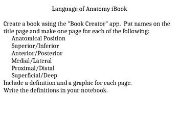 Language of Anatomy iBook
