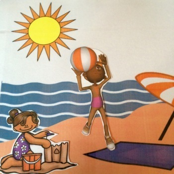 Language of Summer: summer themed expressive & receptive language materials