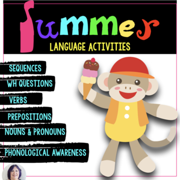 Language of Summer: summer themed expressive & receptive l