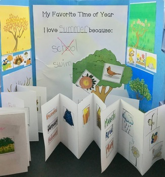 Language of the Seasons _ A Year at Maple Hill Farm for speech therapy