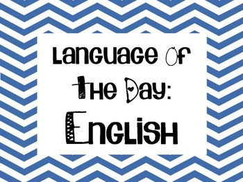 Language of the day Mini Posters