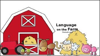 Language on the Farm; Language Therapy