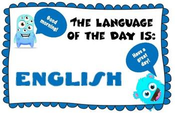 Language os the Day / Idioma del Día