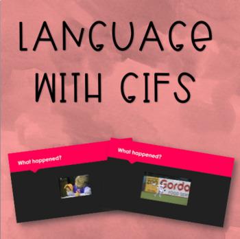 Language with GIFs