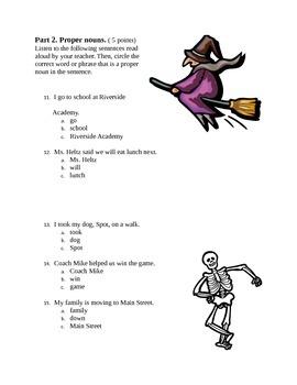 Language/Grammar Test
