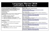 Languages Planner - Japanese