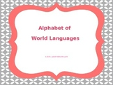 Languages of the World A-Z