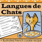 Langues de Chat: French cookie recipe