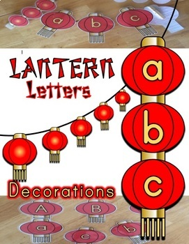 Lantern Letter Decorations and Crafts