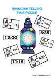 Lantern Telling Time Puzzles