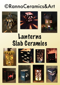 Ceramic Clay Lanterns