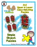 Lanterns - Chinese New Year - Alphabet / Letter Puzzles -