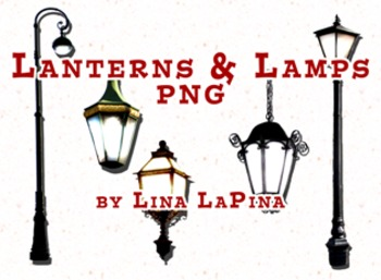 Free Lanterns and Lamps Clipart - Commercial & Personal Use