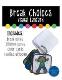 Lanyard Behavior Cue Cards