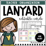 Lanyard Cards | Editable