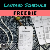 Lanyard Mini-Schedule