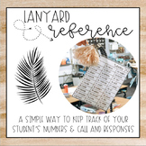 Lanyard Reference Freebie