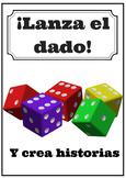 Lanza el dado y crea historias con 12 verbos que terminan en ar