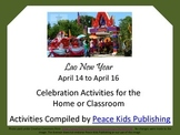 Lao New Year (April 14-16) Activities for the Home or Classroom