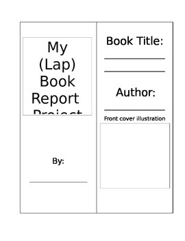 Lap Book- Book Report