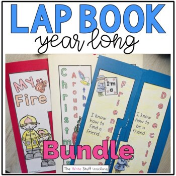 Lapbook Year Long Bundle (Cdn/Aus version)