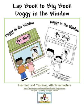 Lap Book to Big Book Doggy in the Window
