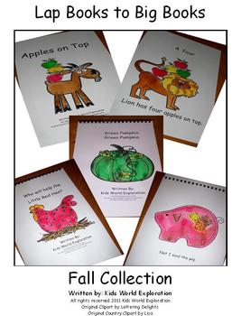 Lap Book to Big Book Fall Collection