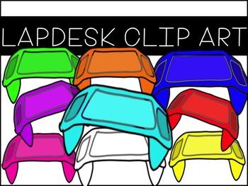 Lap Desk Clip Art