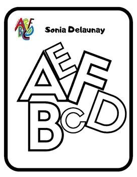 Lapbook Artística: Sonia Delaunay