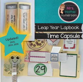 Lapbook Leap Year Time Capsule