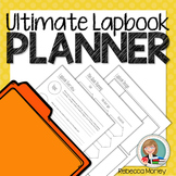 Lapbook Planning Pages