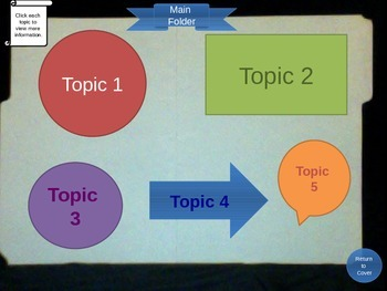 Lapbook Template for PowerPoint