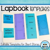 Lapbook Templates for Reading